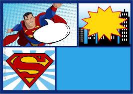 free superman invitations templates free printable invitation design