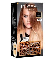 preference wild ombre on short hair loreal preference wild ombres no 3 dip dye hair kit blonde to dark