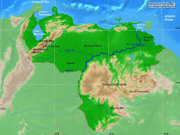 Blank Outline Map Of Trinidad And Tobago by Venezuela Outline Map A Learning Family