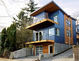 Modular In Law Suite by Project Feature Alley House 2 Modular Prefab Leed Platinum Home