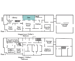 Sorority House Floor Plans Maggie L Walker National Historic Site Museum Collections