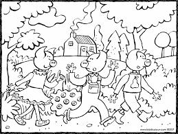 pigs themed colouring pages kiddi kleurprentjes