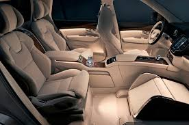 volvo xl 70 volvo lounge concept redefines rear legroom in the xc90 excellence