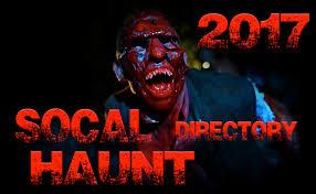 socal haunt directory 2017 theme park adventure