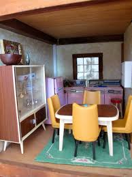 Kitchen Dollhouse Furniture by Susan U0027s Mini Homes Hall U0027s Lifetime Toys Dollhouse 1970s