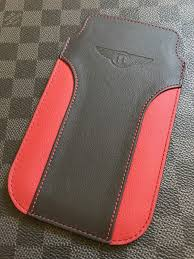 vertu bentley red genuine vertu new signature touch bentley limited edition super