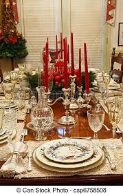dining room table setting for christmas how to set a christmas table my web value
