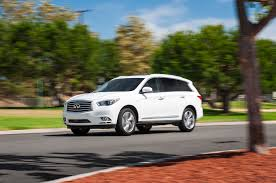 2016 infiniti qx60 hauling the 15 three row luxurious crossovers and suvs for families