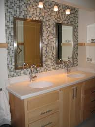 Glass Mirrors For Bathrooms Bathroom Recycled Glass Tile