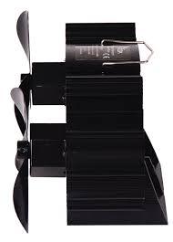 aliexpress com buy 12 5cm height 6 blades heat powered stove fan