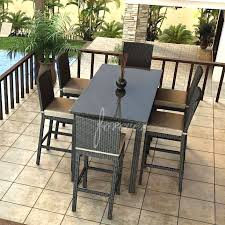 Patio High Chairs Design Cool Patio High Top Tables And Chairs Of High Top Patio
