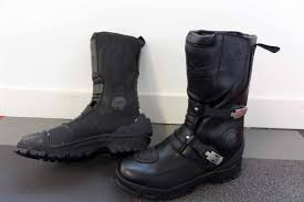 waterproof motorcycle riding boots rst adventure visordown