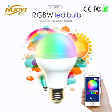 wifi led recessed lights ac85 240v 5w 7w 9w rgbw wifi led bulb light colorful dimmable led