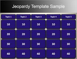 7 Jeopardy Powerpoint Templates Free Ppt Designs Jepordy Template
