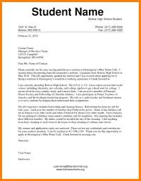 student cover letter examples 5 application letter example for students nanny resumed
