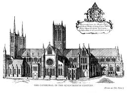 the project gutenberg ebook of the cathedral church of lincoln by the cathedral in the seventeenth century from an old print