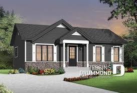 prix maison neuve 2 chambres modèle maison de plain pied et bungalow plans dessins drummond