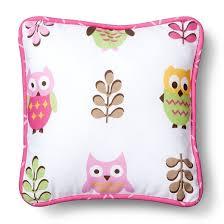 sweet jojo designs 11pc happy owl crib bedding set pink brown