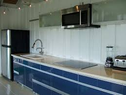 Flat Kitchen Design Small Flat Kitchen Design Blue Modern Idolza