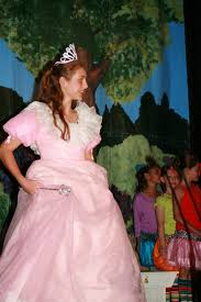 glinda good witch costume everest academy drama club enchants the audience with the wizard of oz