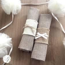rond de serviette mariage rond de serviette en personnalisable lot de 4 création