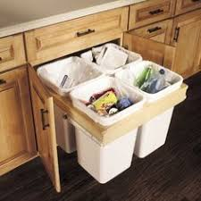 storage solutions details base top mount wastebasket recycling