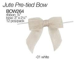 pre bows burlap bows your fabric source wholesale fabric online