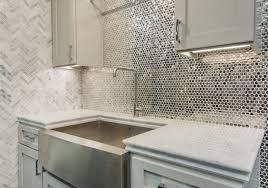 stainless steel kitchen backsplash tiles top photo of reflective metallic kitchen backsplash tile stainless