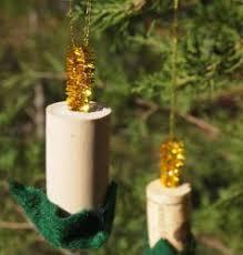 wine cork candle ornaments allfreechristmascrafts
