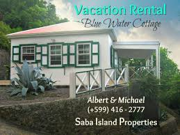 vacation rental blue water cottage albert michael saba
