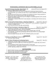 Performance Resume Template Outstanding Strength And Conditioning Resume 60 With Additional