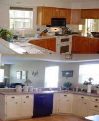 before and after kitchen cabinet painting painting kitchen cabinets