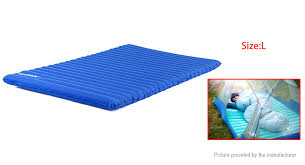 47 82 naturehike outdoor camping inflatable sleeping pad press