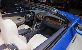 bentley continental interior 2013 car picker bentley new continental gt speed convertible interior