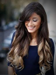 Hair Color Light Brown Ombre Hair Color From Dark To Blonde Women Medium Haircut