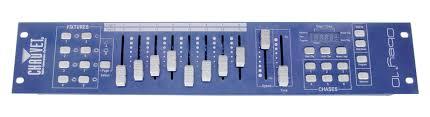 chauvet obey 10 universal dmx 512 led light controller agiprodj