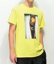 light yellow t shirt succ lil mayo curtains light yellow t shirt zumiez