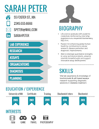What Font To Use On Resume How To Make An Infographic Resume Updated Venngage
