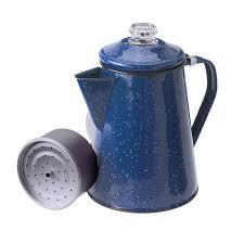 Coffee Pot gsi outdoors enamelware percolator coffee pot 12 cup