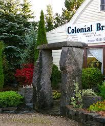 stone trellis