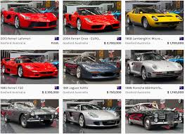 enzo australia gosford museum selling ultra exclusive supercars including the
