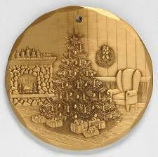 wendell auguste wendell august annual ornament bronze at