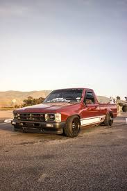 nissan hardbody lowered custom 1988 u0027 toyota hilux minitruck mk4 pickup singlecab modified