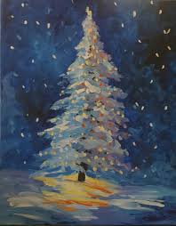 o christmas tree egr gaslight village brush studio