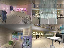 3 Floor Mall by Mod The Sims Blackforest Mall
