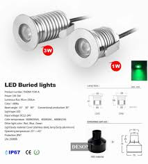 Outdoor Led Recessed Lighting by 12v Ip67 Waterproof Outdoor Led Recessed Deck Floor Light Spot