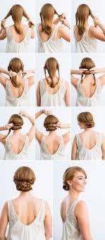 ponytail shag diy haircut 12 amazing updo ideas for women with short hair diy wedding hair