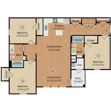 floor plans 3 bedroom 2 bath vista availability floor plans pricing