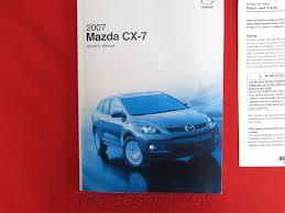 amazon com 2007 mazda cx 7 owners manual car electronics