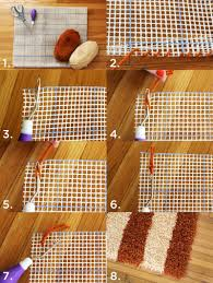 Make Your Own Outdoor Rug by Diy Latch Hook Rug U2013 A Beautiful Mess